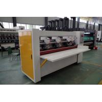 Buy cheap Stand Alone Eight Roll Type Corrugated Slitter Machine Thin Blade 1 Year Warranty product