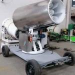 Buy cheap Trolley Mounted Fog Gun Dust Removal Equipment Air Environmental Spraying Machine product