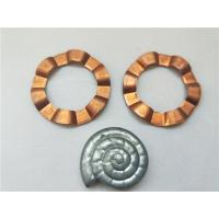Buy cheap Copper Sheet Brass Stamping Parts Progressive Die Products With Wave Shape from wholesalers