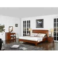 Buy cheap New design Nanmu Solid wood Bedroom furniture set By ISO9001 and FSC china good factory to sell high end quality product