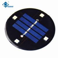0.4W Mini Solar Panels Φ68X2.5mm Size With High Cell Efficiency CE Approval