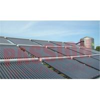Buy cheap 100 Tubes Evacuated Solar Collector Open Loop Circulation Room Hot Water Heating from wholesalers