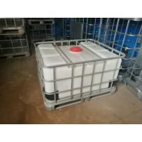 Buy cheap 500L IBC type rotomolded OEM  pallet liquid container (IBC) from Jiangsu China plastic factory product