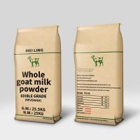 Buy cheap Food Glass Instant Whole / Full Cream Goat Milk Powder 25kg product