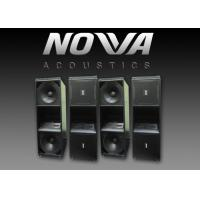 """Buy cheap Double 12"""" Three Way Active Line Array Speakers For Live Performance , RoHS Standard product"""