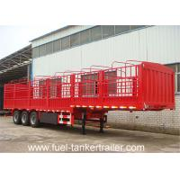 13 Meter Length Flat Bed Semi Trailer With Side Wall Side Panel Cargo Trailer 104428337