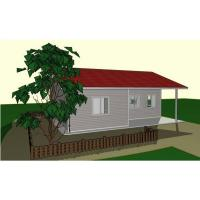 Buy cheap Economic Light Gauge Steel Two Bedroom Modular Homes Prefab House For Hotel / Shop product