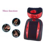 Buy cheap Kneading And Heating Back Massage Chair Pad with 6 heads for back and waist product