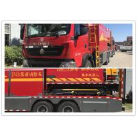 Buy cheap 35T Remote Water Supply System Fire Truck 6X4 Drive Type With GPS Monitoring from wholesalers