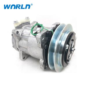 Buy cheap Truck Auto  AC Compressor For KOBELCO Sanden 7H13 1B 24V Air Conditioner Pumps product