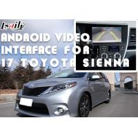 Buy cheap TOYOTA Sienna Android Video Interface Car Interface With 360 Panoramic DVR from wholesalers