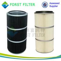 China FORST Air Filter  Cartridge Industrial Polyester Filter Manufacturer on sale