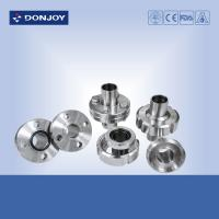 Buy cheap Hygienic Aseptic Flange Set Stainless Steel Sanitary Fittings DN11864  Sanitary Thread union product