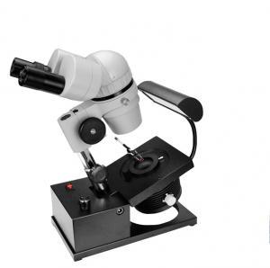Buy cheap Microscópio binocular da gema da jóia da lente F13 com ampliação 10X - 40X product