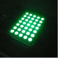 Buy cheap Pure Green 5x7 Dot Matrix 3mm LED Lights Moving Message Signs product