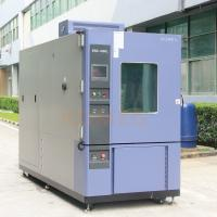 China AC 380V  Water Cooling Humidity Test Chamber with Rapid Temp Change Rate wholesale