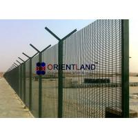 Buy cheap PVC Powder Coated, Wire Mesh Security Fencing 3 X 0.5 X 8 Gauge product