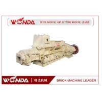 Buy cheap Small Scale Clay Brick Making Machine , Solid Bricks Manufacturing Machine Low Noise product