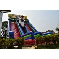 China Big Inflatable Super Mario Subject High Slide Beautiful Inflatable Digital Painting Tall High Dry Slide on sale