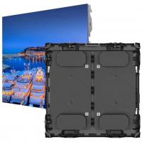 China 2400Hz Outdoor Advertising LED Signs Panels  P10 60% Energy Saving Die Casting on sale