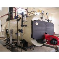 Buy cheap Horizontal Low Noise 0.5 Ton Oil fired Steam Boilers with Lateral Cut Tube product