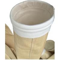 Buy cheap Non Woven Industrial Dust Filter Bag P84 Material Ce Approval For Asphalt product