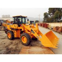 Buy cheap Power Engine 3 Ton Front End Wheel Loader 1.7m3 Capacity With 2850mm Wheelbase from wholesalers