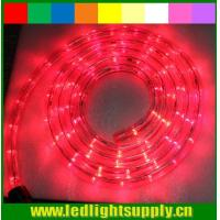 China led light 12/24v 1/2'' 2 wire rope light connector christmas rope lights on sale