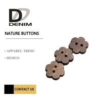 Buy cheap 2 /4 Holes Natural Coconut Buttons Bulk Order product