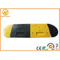 China Rubber Speed Bump for Road Safety Traffic Calming Speed  20 Ton Weight Capacity on sale