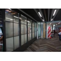 Buy cheap Acoustic Fireproof Glass Partition Wall Transparent Sound Reducing High Safety product