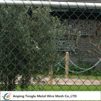 Buy cheap Chain Wire Fencing|Chainlink or Chainmesh Made by Steel Wire 25mmx2.0mm Specification product