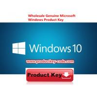 China Microsoft Windows 10 Product Key Codes Download Online Activate Key 32 64bit on sale