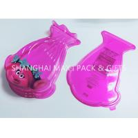 Buy cheap Food Grade Pink Cotton Plastic Candy Containers For Party Favors Customized Special Shaped product