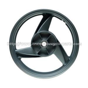 Buy cheap Black 17 Inch Motorcycle Wheels, Motorcycle Alloy WheelsFor Kawasaki ER5 All Years product
