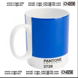 Buy cheap forme a venda por atacado azul da caneca das canecas number.2728 do copo dos pontos da caneca das cores da caneca PANTONE product
