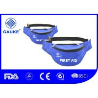 Buy cheap Soccer Sports Medical Kit Blue First Aid Waist Bag For Traveler Water Resistant product