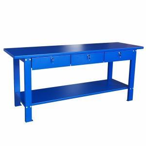 Buy cheap 3 Lockable Drawers 1 Shelf 2000mm Heavy Duty Workbench product