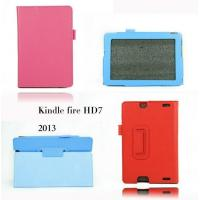 Buy cheap Slim Folio Litchi PU Leather Case Stand Cover For Amazon Kindle Fire HD 7 Tablet product