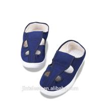 Buy cheap Blue Anti Static Work Shoes , Short Canvas Shoes Non Woven Fabrics Material product