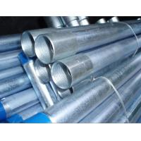 China End Inside Threaded Galvanized Steel Pipe , Galvanized Steel Water Pipe on sale