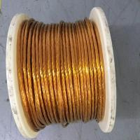 Buy cheap 9kv High Voltage Flat Litz Wire Taped Size 0.18 X 1386 With Ul Sgs Approval product