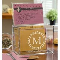 Buy cheap Hot Sale!!! Factory Handmade Manufacturing Acrylic Clear Recipe Card Box for 4x6 Card product