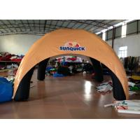 Buy cheap Advertising Exhibition Inflatable Event Shelter , 5 X 5m Blow Up Event Shelter Wind Resistant product