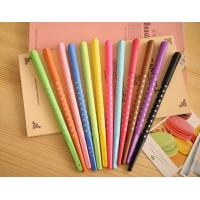Buy cheap Promotional Orange / Green / Yellow Plastic Advertising Ball Pen Heart Shape product