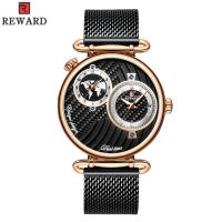 Buy cheap Chinese Two Movement Stainless Steel Caseback Watch , Mens Waterproof Watches from wholesalers