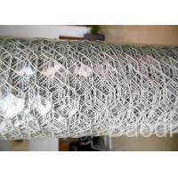 Buy cheap White Color Plastic Poultry Netting / Chicken Wire Mesh Roll With Hexagonal Holes product