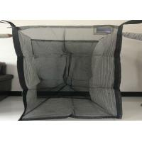 Buy cheap Full Open Top Ventilated Big Bag With Flat Bottom Custom Size / Color product