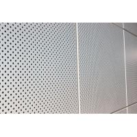 China Exterior Wall Decoration Perforated Aluminum Wall Panels For Building Wall Material on sale