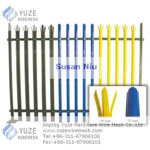 China 鋼鉄柵の塀 wholesale